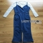 Lady Ribbon Miranda Lace and Denim Jumpsuit thumbnail 10