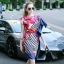 Lady Ribbon Online เสื้อผ้าออนไลน์ขายส่ง Normal Ally เสื้อผ้า NA10180816 &#x1F389Normal Ally Present Elegance Silp scarf dress&#x1F389 thumbnail 3