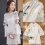 Lady Ribbon ขายส่ง White Lace Dress thumbnail 2
