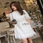 Lady Ribbon Cotton Embroidered Dress thumbnail 6