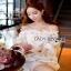 Lady Ribbon Organza Dress ขายส่งเดรสผ้าแก้ว thumbnail 1