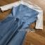 Lady Ribbonc Lace and Denim Mini Dress thumbnail 6
