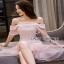Lady Ribbon Melissa Ruffle Pink Dress thumbnail 3