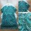 Lady Ribbon Online ขายส่งเสื้อผ้าแฟชั่นออนไลน์ เสื้อผ้า Normal Ally NA14080816 &#x1F389Normal Ally Present flower asian print boutique dress&#x1F389 thumbnail 5