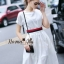 Lady Ribbon Online เสื้อผ้าออนไลน์ขายส่ง Normal Ally เสื้อผ้า NA09150816 &#x1F389Normal Ally Present Gucci New collection 2016 Dress &#x1F389 (เดรส + เข็มขัด) thumbnail 2