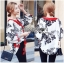 Lady Ribbon Online ขายส่งเสื้อผ้าออนไลน์ เลดี้ริบบอน LR09280716 &#x1F380 Lady Ribbon's Made &#x1F380 Lady Rosie Sunday Casual Embroidered Cotton Blouse with Tassels thumbnail 2