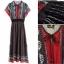 Lady Ribbon Online ขายส่งเสื้อผ้าแฟชั่นออนไลน์ เสื้อผ้า Normal Ally NA15080816 &#x1F389Normal Ally Present Bohemian prince style summer maxi dress&#x1F389 thumbnail 3