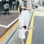 SS18010916 Seoul Secret Say's... Pleaty Layer Chic Jumpsuit Material : ทรงสวยดูไฮด้วยทรงจั้มสูทกางเกงขายาว thumbnail 3