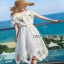 Lady Ribbon Elise Summer Chiffon Dress thumbnail 3