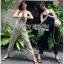 Lady Lily Casual Chic Ribbon Jumpsuit จัมป์สูทสายเดี่ยว thumbnail 1