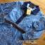 Gucci Blue Denim Shirt Lady Ribbon Dress เชิ้ตเดรส thumbnail 5