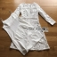 White Lace Dress Lady Ribbon ขายเดรสผ้าลูกไม้ thumbnail 7
