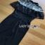 Lady Ribbon Black Jumpsuit จัมป์สูทผ้า thumbnail 6