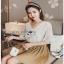 Mini Flower White Chiffon Lady Ribbon เสื้อผ้าชีฟองสีขาว thumbnail 1