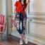 กางเกงยีนส์แฟชั่นทรงเดฟ ผ้ายีนส์เกาหลีฮ่องกง thumbnail 2