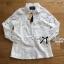 Lady Ribbon Online ขายส่ง เสื้อผ้าออนไลน์ ของแท้ ราคาถูกพร้อมส่ง เลดี้ริบบอน LR18140716 &#x1F380&#x1F380 Lady Ribbon's Made &#x1F380&#x1F380 Lady Blaire Floral Embroidered Lace Shirt in White thumbnail 6