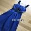 Lady Ribbon Rosie Sexy Blue Dress เดรสสีน้ำเงินสด thumbnail 5
