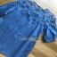 Denim and Lace Lady Ribbon Mini Dress ขายมินิเดรส thumbnail 5