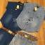 Lady Ribbon Online เสื้อผ้าออนไลน์ ขายส่งของแท้ราคาถููก LR11110716 &#x1F380 Lady Ribbon's Made &#x1F380 Lady Cindy Little Western Cowboy Denim Shirt and Shorts Set with Belt thumbnail 6