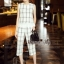 NA01010916 &#x1F389Normal Ally Present casual summer scoth set&#x1F389 (เสื้อ + กางเกง , มีซับใน) thumbnail 3
