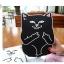 เคสซิลิโคน แมวดำ แมวขาว (เคส iPad mini 4) thumbnail 4