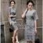ชุดเดรสเกาหลีซิปซ่อนเกรดดี Lace Dress thumbnail 3