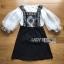 Lady Ribbon Dress Set ขายส่งเซ็ตเสื้อผ้าคอตตอน thumbnail 6