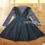 Lady Ribbon Danielle Green Pleated Set Dress thumbnail 6