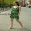 ASOS แฟชั่นจั้มสูตรเกาหลีสีเขียว เสื้อผ้าสีสันสดใส thumbnail 4