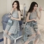 Lady Ribbon Online เสื้อผ้าแฟชั่นออนไลน์ขายส่ง เลดี้ริบบอนของแท้พร้อมส่ง sevy เสื้อผ้า SV12240716 BEST SELLER-Restock &#x1F389Sevy Sleeveless Vintage Hollow Lace Dress thumbnail 3