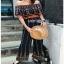 Jumpsuit with Silk Satin Belt Lady Ribbon จัมป์สูทผ้าเครป thumbnail 3