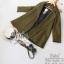 เสื้อคลุมแฟชั่นผ้าหนาป้ายเกาหลี thumbnail 6