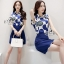 Sevy Two Pieces Of Glam Sleeveless Shirt With Skirt Sets thumbnail 4