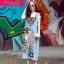 Lady Ribbon Online เสื้อผ้าออนไลน์ขายส่ง Normal Ally เสื้อผ้า NA01150816 &#x1F389Normal Ally Present Denim bib skirt summer set&#x1F389 (เอี้ยมยีนส์ปักเลื่อม + เกาะอกสีดำ) thumbnail 3