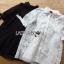 Lady Ribbon Online ขายส่งเสื้อผ้าออนไลน์ เลดี้ริบบอน LR08280716 &#x1F380 Lady Ribbon's Made &#x1F380 Lady Monica Sweet Minimal White Lace Shirt Dress เชิ้ตเดรสผ้าลูกไม้ thumbnail 1