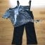 Lady Ribbon Daniella Platinum Overall Lace Jumpsuit thumbnail 9