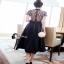 Lace Dress Long dress ลูกไม้ช่วงตัวบน thumbnail 3