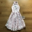 Lady Ribbon Pearl Embellished Pink Dress thumbnail 10