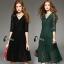 Luxury Lace Dress Long dress ลูกไม้ยาว คอวี thumbnail 1