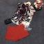 Lady Ribbon Online เสื้อผ้าแฟชั่นออนไลน์ขายส่ง เลดี้ริบบอนของแท้พร้อมส่ง sevy เสื้อผ้า SV08240716 &#x1F389Sevy Two Pieces Of Leave Stripes With Red Shorts Sets thumbnail 4