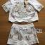 Lady Ribbon Online ขายส่งเสื้อผ้าออนไลน์ Lady Ribbon พร้อมส่งLR16040816 &#x1F380 Lady Ribbon's Made &#x1F380 Lady Jennifer Natural Flower Embroidered Cotton Set เซ็ตเสื้อและกางเกง thumbnail 5