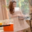 Lady Ribbon Rena Flower Blooming Pastel Lace Mini Dress thumbnail 6