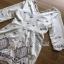 White Crepe Lady Ribbon Mini Dress มินิเดรสผ้าเครป thumbnail 7