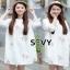เสื้อผ้าคอกลม แฟชั่นเกาหลีแขนตุ๊กตา thumbnail 1