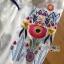 Lady Ribbon Online ขายส่งเสื้อผ้าออนไลน์เลดี้ริบบอน LR08010816 &#x1F380 Lady Ribbon's Made &#x1F380 Lady Alexandria Country Feminine Flower Embroidered Button-Down Cotton Dress thumbnail 6