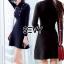 Mini dress ไหมพรมลุคเรียบหรู thumbnail 1
