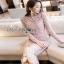 Lady Ribbon Pale Pink Midi Dress thumbnail 2