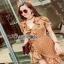 Crepe Lady Ribbon Mini Dress มินิเดรส thumbnail 3