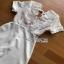 White Lace and Crepe Mini Dress Lady Ribbon มินิเดรส thumbnail 4