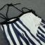Sevy CTK On The Beach Stripes Off Shoulder Maxi Dress thumbnail 5